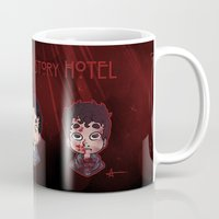 ahs Mugs featuring AHS Hotel: Justin by Sunshunes
