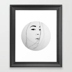 Don't turn back (illustration) Framed Art Print