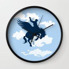 Sky Rodeo Wall Clock
