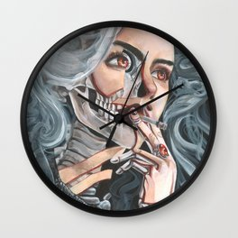 Mortality Wall Clock