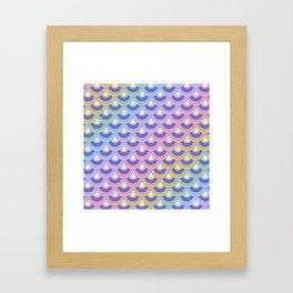 Koi Nobori Niji Pastel Framed Art Print