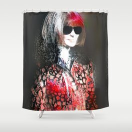 Wintour Is Coming Shower Curtain