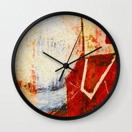 Small Farmer  Wall Clock