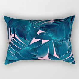 Blue Banana Rectangular Pillow