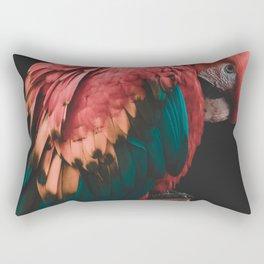 Parrot - Bashful Beauty Rectangular Pillow