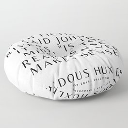 53  Aldous Huxley Quotes 200905 The Author Of Brave New World Literature Literary Writing Writer Floor Pillow