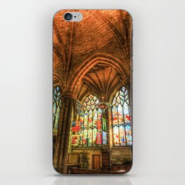 Winter Sun Cathedral iPhone Skin