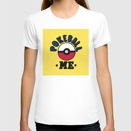 pokeball me T-shirt