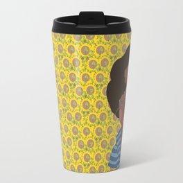 Angela Davis - Notable Women Travel Mug