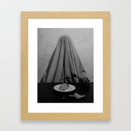 Vacío Convulso Framed Art Print