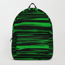 Apple Green Stripes Backpack