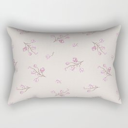 Almond's Blossoms Rectangular Pillow
