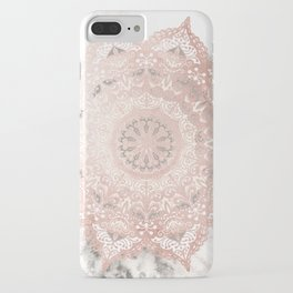 Dreamer Mandal Rose Gold iPhone Case