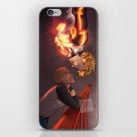johannathemad iPhone & iPod Skins featuring SaiGenos by JohannaTheMad