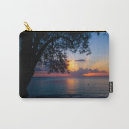 Ocean Island Sunset Carry-All Pouch