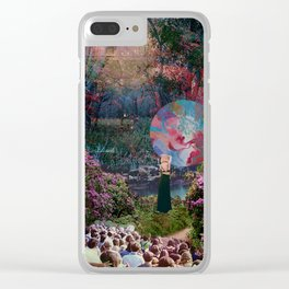 Swamp Livin Clear iPhone Case
