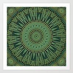 Green Goodness Art Print