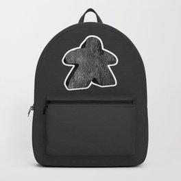 Giant Black Meeple Backpack