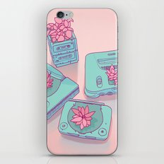 Flowers & Consoles iPhone Skin