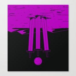 Three of Swords (reversed) Canvas Print