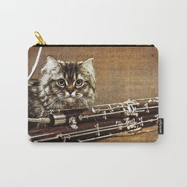 Music was my first love - cat and bassoon Carry-All Pouch