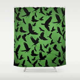 Morrigan's Murder Shower Curtain