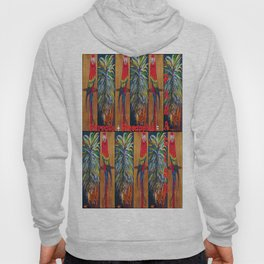 Parrots and Pineapples Hoody