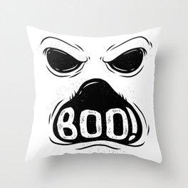 Halloween Ghost Throw Pillow
