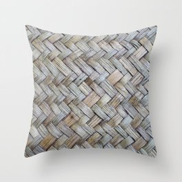 Natural Blended Sea Grass Throw Pillow