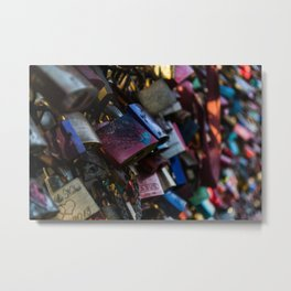 Lovelocks Metal Print