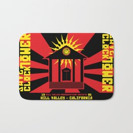 Clocktower Propaganda Bath Mat