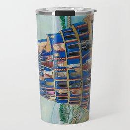 Walking the Tower of Babylon Travel Mug