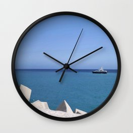 Wave Breaker Wall Clock