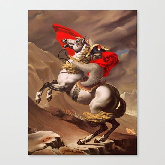 Bradypus Magnus Canvas Print