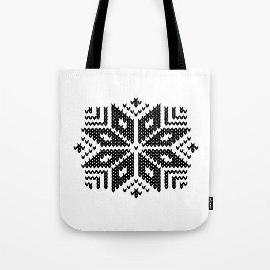 knit flake Tote Bag