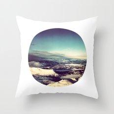 Telescope 4 arctic Throw Pillow