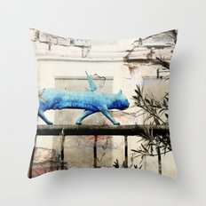 Angels Never Fall Throw Pillow