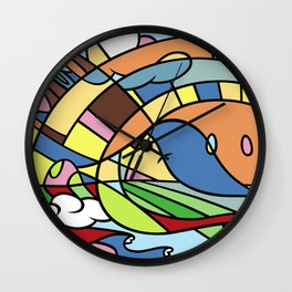 In the Pursuit of Happiness Wall Clock