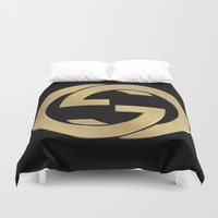 gucci Duvet Covers featuring Gucci 2 by Beauti Asylum