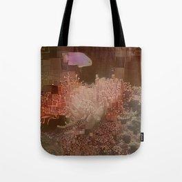 Aquarium Abstract Tote Bag