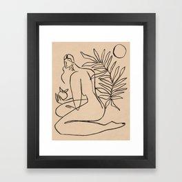 Summer lines V||| Framed Art Print