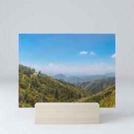San Bernardino National Forest Mini Art Print