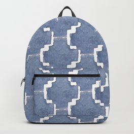 Chambray Pattern Backpack