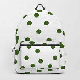 Simply Dots in Jungle Green Backpack