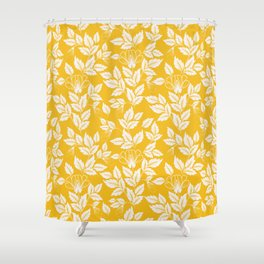 Leaves Pattern 11 Shower Curtain