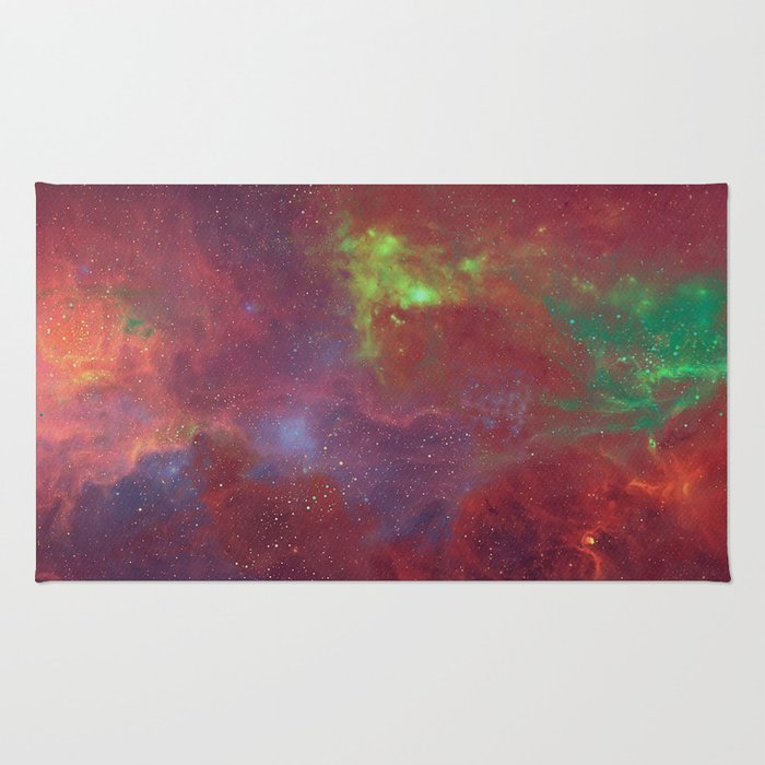 Hell and Heaven Rug