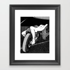 asc 585 - L'étalage (The display) Framed Art Print