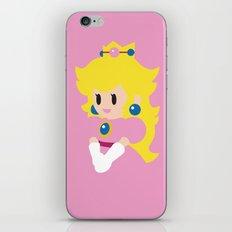 Princess Peach - Minimalist  iPhone & iPod Skin