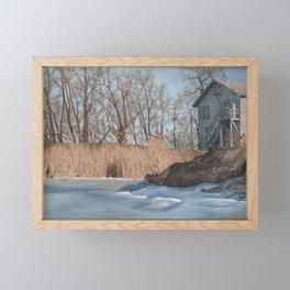 Bay Port Framed Mini Art Print