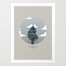 Ribs, Lung Art Print